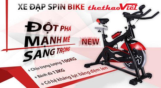 Xe Đạp Tập Thể Dục Đa Năng Spin Bike