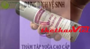 Dung dịch vệ sinh sử dụng cho thảm tập Yoga