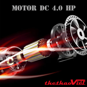 Motor DC 4.0 HP vận hành hoàn hảo