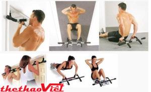 Tập luyện hiệu quả với xà đa năng iron gym- 1557A