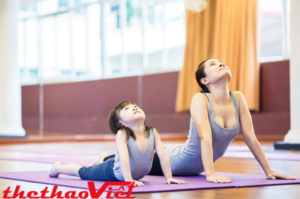 Tập luyện với thảm tập yoga cao cấp