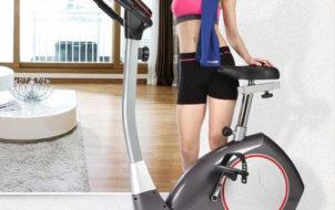 Giảm cân đơn giản với xe đạp tập thể dục tại nhà