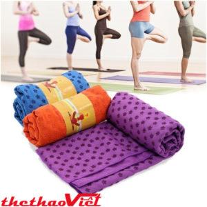 Lợi ích của khăn trải thảm tập Yoga mang lại cho người tập