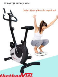 Xe đạp tập thể dục tại nhà giúp chị em giảm cân nhanh chóng