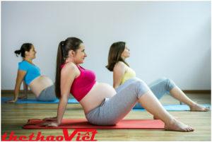 Phụ nữ mang thai nên tập luyện Yoga