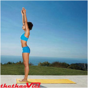 Tư thế ngọn núi cơ bản khi tập Yoga
