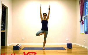 Tư thế cây khi tập Yoga
