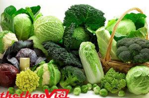 Bạn nên ăn nhiều rau xanh sẽ rất tốt cho da và sức khỏe