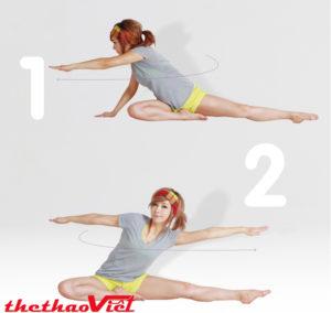 Bài tập vận động thắt lưng rất hữu ích trong việc đánh tan mỡ thừa