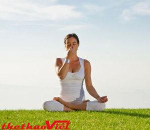 Hít thở là bước đầu cần học khi tập yoga