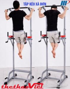 Bài tập rất hữu ích cho phát triển cơ lưng, cơ tay...