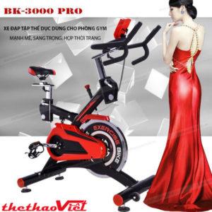 Siêu phẩm xe đạp tập BK 3000 Pro