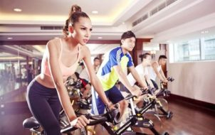 tập hít thở khi đạp xe
