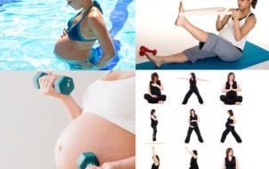phụ nư mang thai có được tập gym không
