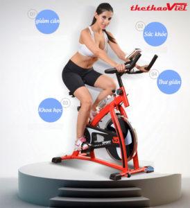 Spin Bike - giải pháp lí tưởng cho sức khỏe của cả gia đình