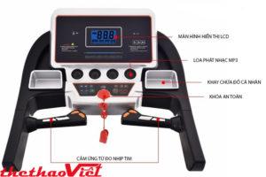 Máy chạy bộ điện hãng Pro Fitness