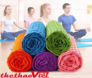 Khăn trải thảm tập Yoga chất lượng