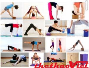Tập luyện hàng ngày với gối tập Yoga cho kết quả tốt