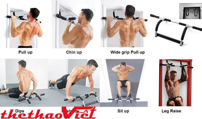Tập luyện hàng ngày với xà đơn đa năng iron gym- 1557A