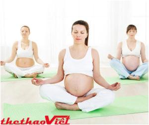 Lợi ích của việc tập luyện Yoga tại nhà khi mang bầu