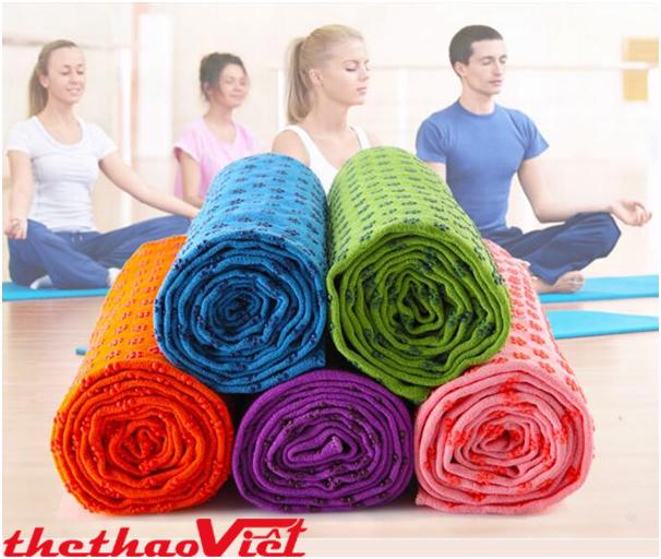 Khăn trải thản tập Yoga ngày càng được nhiều người sử dụng