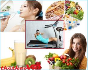 Bổ sung dinh dưỡng trước khi tập là rất quan trọng