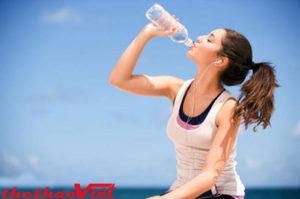 Cần bổ sung nước trước, trong và sau khi luyện tập