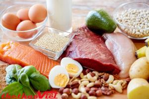 Nhớ bổ sung cả Protein nữa nhé