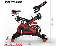Xe đạp tập SP 3000 Pro