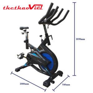 Thiết kế của xe đạp tập YB- 08 có thiết kế nhỏ gọn phù hợp với cả không gian diện tích nhỏ