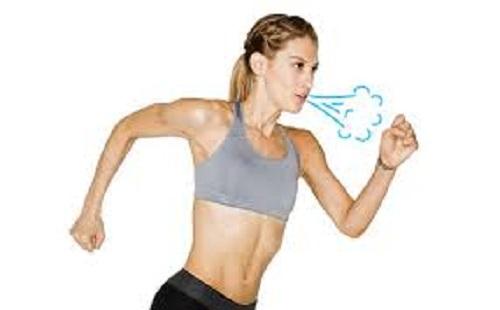 cách hít thở khi chạy