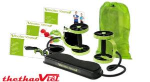 Máy tập cơ bụng Revoflex Xtreme thiết kế nhỏ gọn và tiện lợi phù hợp với mọi lứa tuổi