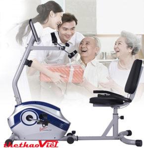 Xe đạp phục hồi chức năng R7 món quà chăm sóc sức khỏe tuyệt vời cho bố mẹ