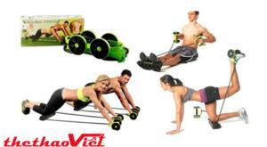 Máy tập cơ bụng Revoflex Xtreme với nhiều tài tập khác nhau cho mọi vùng cơ của cơ thể