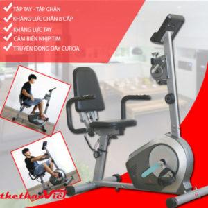 Xe đạp phục hồi chức năng dùng cho cả tập tay và tập chân