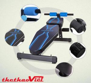 Ghế tập gym đa năng JN-Y09 với thiết kế hiện đại, hoàn hảo đến từng chi tiết