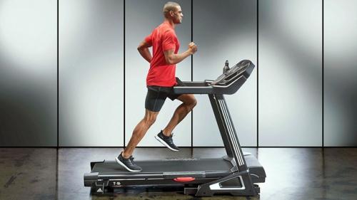 máy tập chạy bộ tech fitness