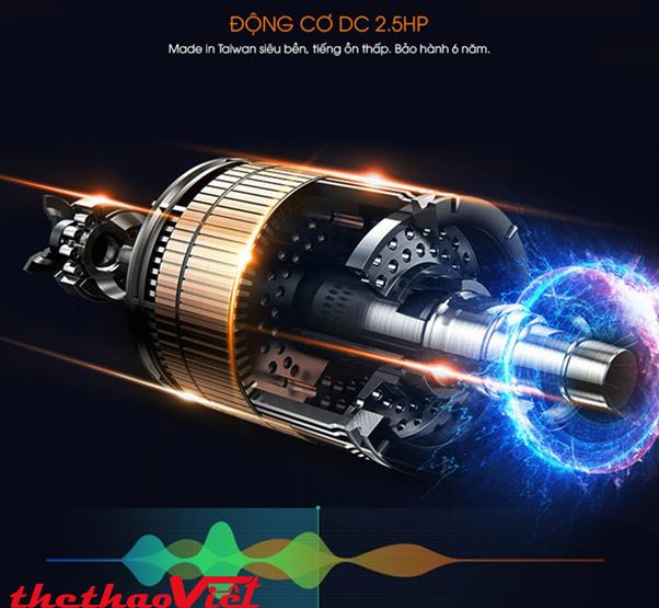 Động cơ DC công suất tối đa 2.5Hp siêu bền