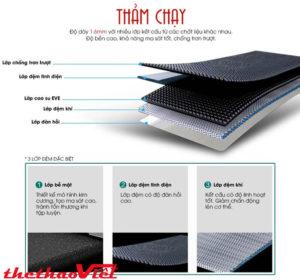 Thiết kế phần thảm chạy hiện đại và cao cấp