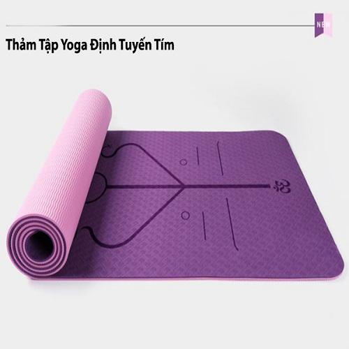 thảm tập yoga định tuyến là gì