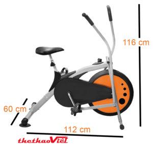 kich-thuoc-xe-dap-tap-the-duc-airbike-mk77