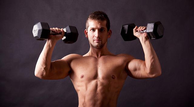 Tập tạ tay giúp xương chắc khỏe hơn