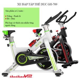Màu xe đạp tập thể dục GH-709