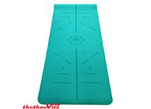 Thảm yoga định tuyến TPE 6 mm